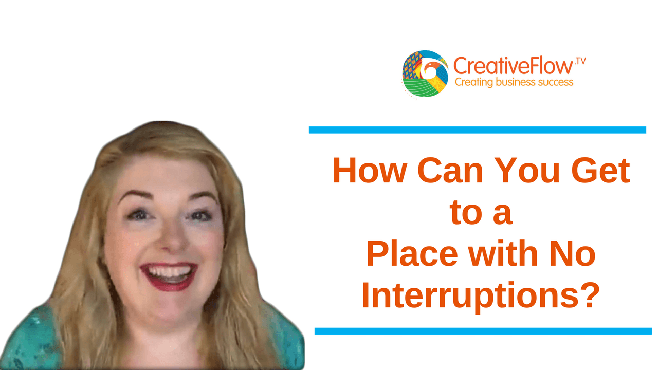 How Can You Get to a Place with No Interruptions?